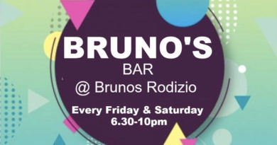 Brono's Bar – Every Friday & Saturday